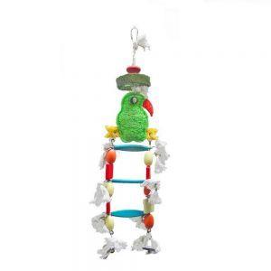 Parrot Loofah Ladder