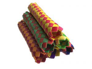 Finger Trap Woven Paper Sticks Giant 6