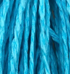 Braided Paper Rope Turquoise Blue