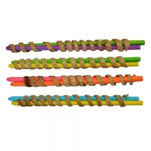 Curly Q`s Chew Toy - Pack 4