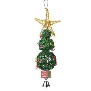 Vine Ball Christmas Tree Festive Rodent Toy