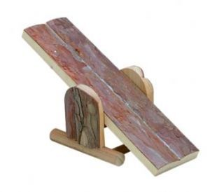 Wooden Seesaw Small Animal Toy