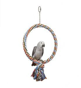 Large Single Coloured Rope Hoop Toy