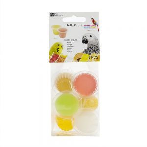 Fruit Cup Jellies Mixed Flavours Pack 6 - treat