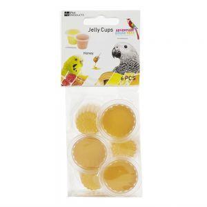 Fruit Cup Jellies Honey Treat Pack 6