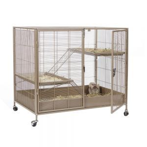 LittleZoo Venturer Rat, Chinchilla Degu Cage LOWER HALF ONLY