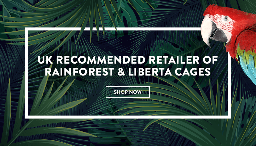 UK recommended retailer of rainforest & liberta cages